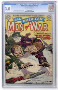 Golden Age (1938-1955):War, All-American Men of War #2 (DC, 1952) CGC GD/VG 3.0 Cream tooff-white pages....