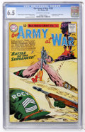 Silver Age (1956-1969):War, Our Army at War #128 (DC, 1963) CGC FN+ 6.5 Off-white to white pages....