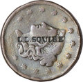 Counterstamps, Trio of Counterstamped U.S. Coins.... (Total: 3 coins)
