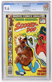 Scooby-Doo #1 (Marvel, 1977) CGC NM+ 9.6 Off-white to white pages