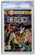Bronze Age (1970-1979):Adventure, Emergency! #4 (Charlton, 1976) CGC NM 9.4 Off-white to white pages....