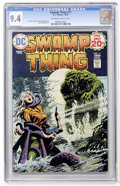 Bronze Age (1970-1979):Horror, Swamp Thing #11 (DC, 1974) CGC NM 9.4 Off-white to white pages....