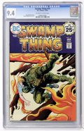 Bronze Age (1970-1979):Horror, Swamp Thing #14 (DC, 1975) CGC NM 9.4 Off-white to white pages....