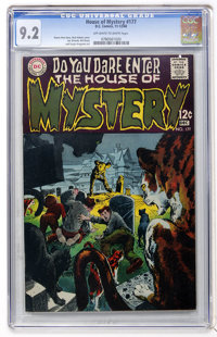 House of Mystery #177 (DC, 1968) CGC NM- 9.2 Off-white to white pages