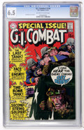 Bronze Age (1970-1979):War, G.I. Combat #140 (DC, 1970) CGC FN+ 6.5 Off-white to white pages....