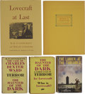 Books:Fiction, H. P. Lovecraft. Five Horror Volumes,... (Total: 5 Items)