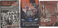 Books:First Editions, H. P. Lovecraft. Three First-Edition Short Story Collections,...(Total: 3 Items)