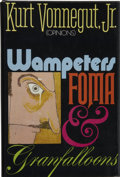 Books:First Editions, Kurt Vonnegut, Jr. Wampeters Foma & Granfalloons. NewYork: Delacorte Press/ Seymour Lawrence, 1974.. ...