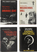 Books:First Editions, Erle Stanley Gardner. Four Perry Mason First Editions from the1960s,... (Total: 4 Items)