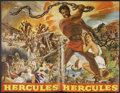 "Movie Posters:Adventure, Hercules Lot (Warner Brothers, 1959). Pressbooks (2) (17"" X 23"")and (18"" X 23""). Adventure.... (Total: 2 Items)"
