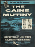 "Movie Posters:War, The Caine Mutiny (Columbia, 1954). Pressbook (Multiple Pages) (12""X 16""). War...."