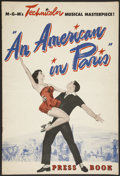 "Movie Posters:Academy Award Winner, An American in Paris (MGM, 1951). Pressbooks (2) (Multiple Pages)(12"" X 17""). Academy Award Winner.... (Total: 2 Items)"