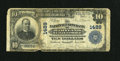 National Bank Notes:Maryland, Baltimore, MD - $10 1902 Plain Back Fr. 624 The National Union Bankof Maryland Ch. # 1489. ...