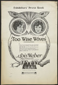 """Movie Posters:Drama, Too Wise Wives (Paramount, 1921). Pressbook (Multiple Pages) (11"""" X 16""""). Drama...."""