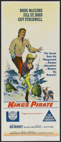 "Movie Posters:Adventure, King's Pirate (Universal, 1967). Australian Daybill (12.5"" X 30"").Adventure...."