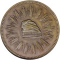 1836 Bronze First Steam Coinage Medal PR65 Brown NGC