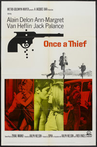 "Once a Thief (MGM, 1965). One Sheet (27"" X 41""). Crime"