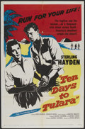 "Movie Posters:Adventure, Ten Days to Tulara (United Artists, 1958). One Sheet (27"" X 41"").Adventure...."