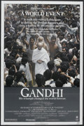 "Movie Posters:Academy Award Winner, Gandhi (Columbia, 1982). One Sheet (27"" X 41""). Academy AwardWinner...."