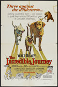 """Movie Posters:Adventure, The Incredible Journey (Buena Vista, R-1974). One Sheet (27"""" X41""""). Adventure...."""