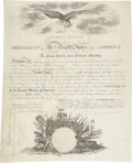 Autographs:U.S. Presidents, James Monroe Presidential Document Signed...