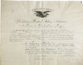 Autographs:U.S. Presidents, Ulysses S. Grant Presidential Document Signed... (Total: 2 Items)