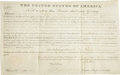 Autographs:U.S. Presidents, John Quincy Adams Presidential Document Signed... (Total: 2 Items)
