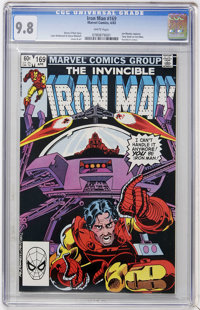 Iron Man #169 (Marvel, 1983) CGC NM/MT 9.8 White pages