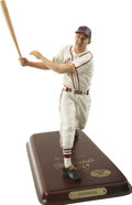 Autographs:Others, Stan Musial Signed Danbury Mint Figurine. Here we present the Hallof Fame St. Louis Cardinals slugger Stan the Man Musial ...