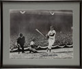 "Autographs:Letters, Ted Williams Signed Oversized Photograph. Exceptional 16x20"" blackand white photograph depicts The Splendid Splinter"" in a..."