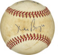 Autographs:Baseballs, St. Louis Cardinals Multi-Signed Baseball with Lou Brock, TedSimmons, and Ken Boyer. Three of the foremost stars for the S...