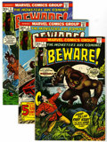 Bronze Age (1970-1979):Horror, Beware Group (Marvel, 1973-74) Condition: Average VF/NM.... (Total:8 Comic Books)