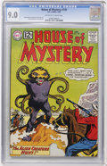Silver Age (1956-1969):Horror, House of Mystery #130 (DC, 1963) CGC VF/NM 9.0 Off-white to whitepages....