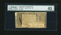 Colonial Notes:Maryland, Maryland April 10, 1774 $4 PMG Choice Extremely Fine 45....