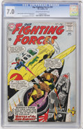 Silver Age (1956-1969):War, Our Fighting Forces #81 (DC, 1964) CGC FN/VF 7.0 Cream to off-white pages....