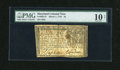 Colonial Notes:Maryland, Maryland March 1, 1770 $4 PMG Very Good 10 Net....