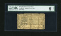 Colonial Notes:Maryland, Maryland March 1, 1770 $1/2 PMG Good 6 Net....