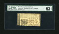 Colonial Notes:New Jersey, New Jersey December 31, 1763 1s PMG Uncirculated 62 EPQ....
