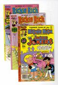 Bronze Age (1970-1979):Cartoon Character, Richie Rich and Jackie Jokers File Copies Group (Harvey, 1977-81)Condition: Average NM-.... (Total: 10 Comic Books)