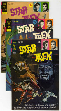 Star Trek File Copies Group (Gold Key, 1971-75) Condition: Average FN/VF.... (Total: 13 Comic Books)