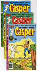 Bronze Age (1970-1979):Cartoon Character, Friendly Ghost Casper File Copies Group (Harvey, 1973-87)Condition: Average NM.... (Total: 19 Comic Books)