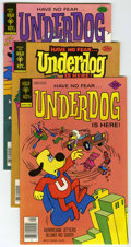 Bronze Age (1970-1979):Cartoon Character, Underdog #14 and 16-22 File Copies Group (Gold Key, 1977-78)Condition: Average NM-.... (Total: 9 Comic Books)