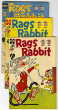 Golden Age (1938-1955):Funny Animal, Rags Rabbit Comics #15-18 File Copies Group (Harvey, 1953-54)Condition: Average VF/NM.... (Total: 4 Comic Books)