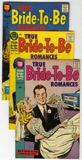 Golden Age (1938-1955):Romance, True Bride-to-Be Romances #24, 26 and 27 File Copies Group (Harvey,1957) Condition: Average VF+.... (Total: 3 Comic Books)