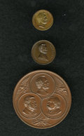 U.S. Presidents & Statesmen, Abraham Lincoln Trio of Medals.... (Total: 3 medals)