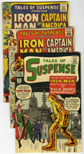 Silver Age (1956-1969):Superhero, Tales of Suspense Group (Marvel, 1963-65) Condition: AverageGD/VG.... (Total: 5 Comic Books)