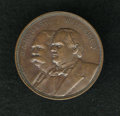 U.S. Presidents & Statesmen, 1897 William McKinley and Hobart Copper Medal....