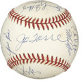 Autographs:Baseballs, 1993 St. Louis Cardinals Team Signed Baseball. Here manager JoeTorre's St. Louis Cardinals from the 1993 season are repres...