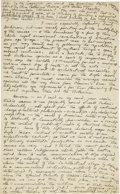 "Autographs:Authors, H. P. Lovecraft. Autograph Letter Signed ""HPL"". Two pages, 5.5"" x 9"", n.p. [Providence, Rhode Island], n.d. [""Tuesday..."