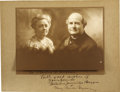 Autographs:Statesmen, William Jennings Bryan and Mary Baird Bryan Signed Photograph....